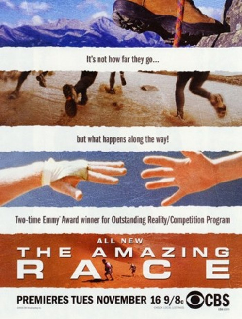 The Amazing Race Movie Poster (11 x 17) - Item # MOV242177