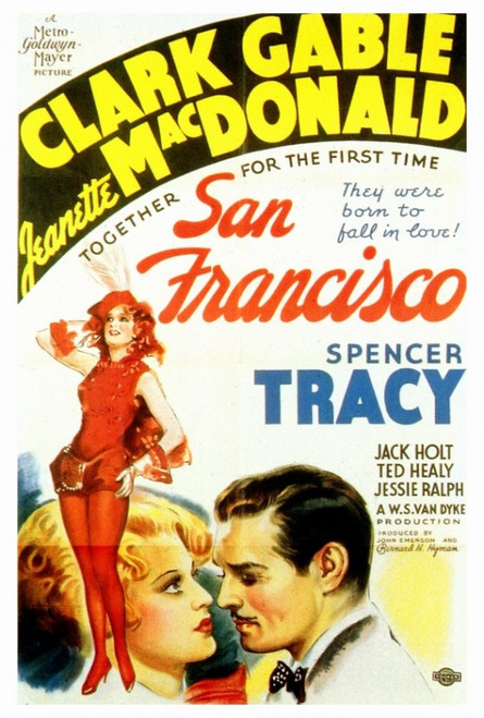 San Francisco Movie Poster Print (27 x 40) - Item # MOVEF6175
