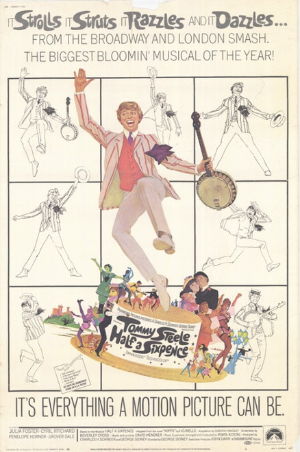 Half a Sixpence Movie Poster Print (27 x 40) - Item # MOVCF2427