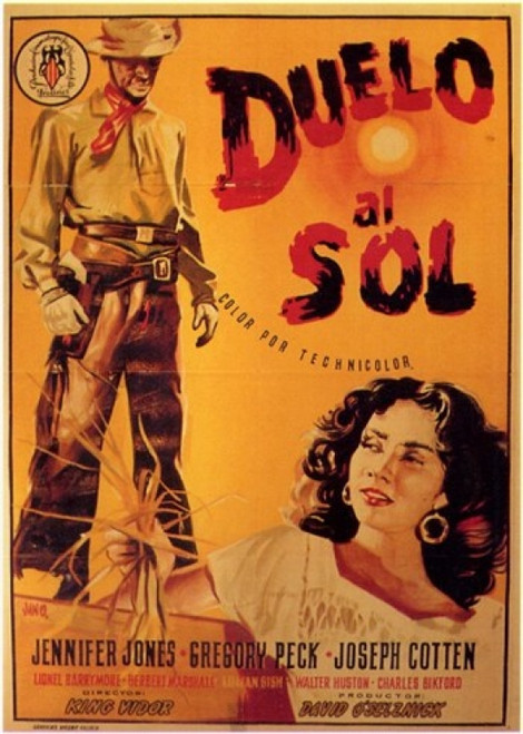 Duel in the Sun Movie Poster (11 x 17) - Item # MOV207327