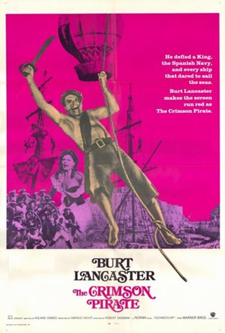 The Crimson Pirate Movie Poster (11 x 17) - Item # MOV228342