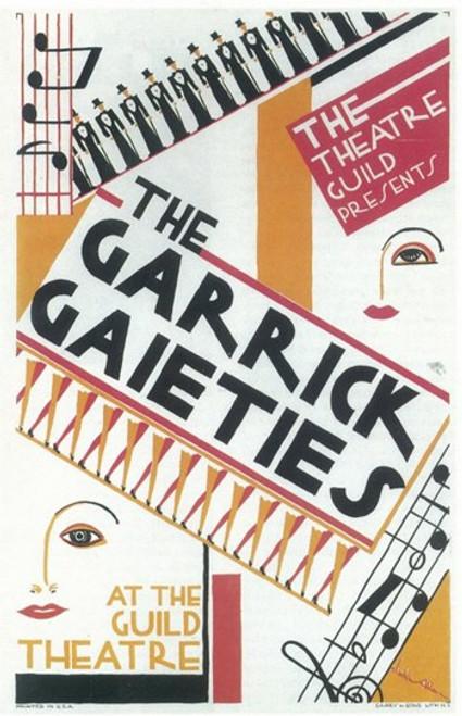 Garrick Gaieties (Broadway) Movie Poster (11 x 17) - Item # MOV407564