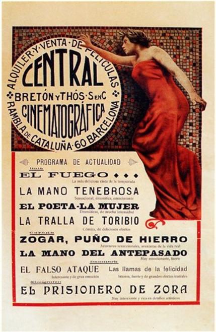 Central Cinematografico Movie Poster (11 x 17) - Item # MOV206632