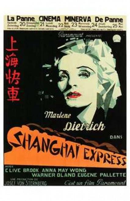 Shanghai Express Movie Poster (11 x 17) - Item # MOV199330