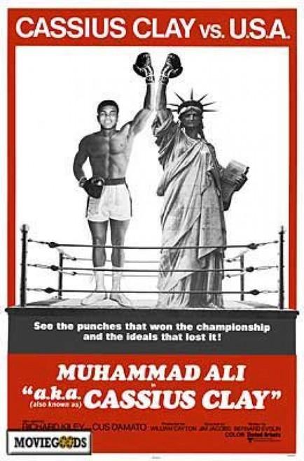 Cassius Clay vs. USA Movie Poster Print (27 x 40) - Item # MOVIH5603