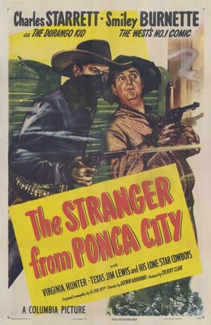 The Stranger from Ponca City Movie Poster (11 x 17) - Item # MOV293471