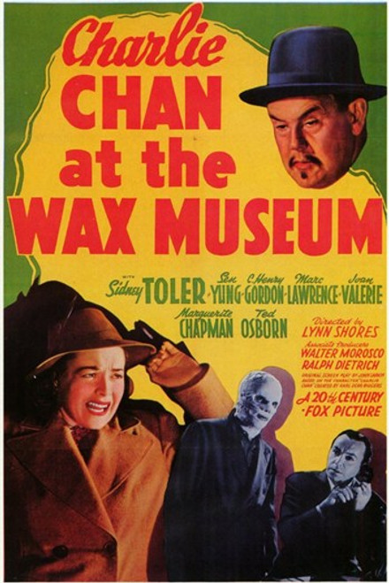 Charlie Chan At the Wax Museum Movie Poster (11 x 17) - Item # MOV198492