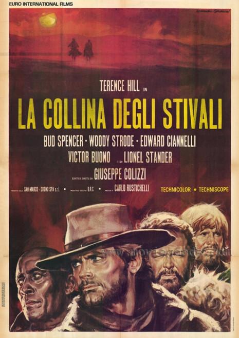 Boot Hill Movie Poster Print (27 x 40) - Item # MOVIF5308