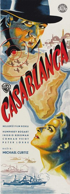 Casablanca Movie Poster (11 x 17) - Item # MOV417325