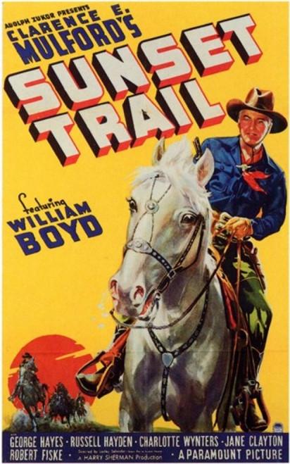 Sunset Trail Movie Poster (11 x 17) - Item # MOV199902