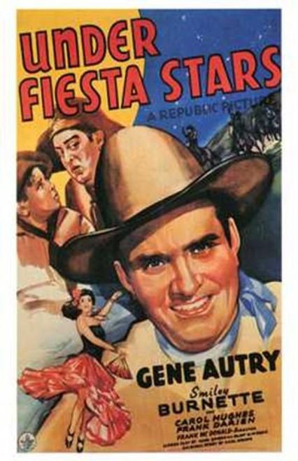 Under Fiesta Stars Movie Poster (11 x 17) - Item # MOV198176