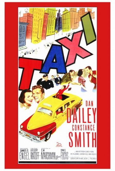 Taxi Movie Poster Print (27 x 40) - Item # MOVCF2176