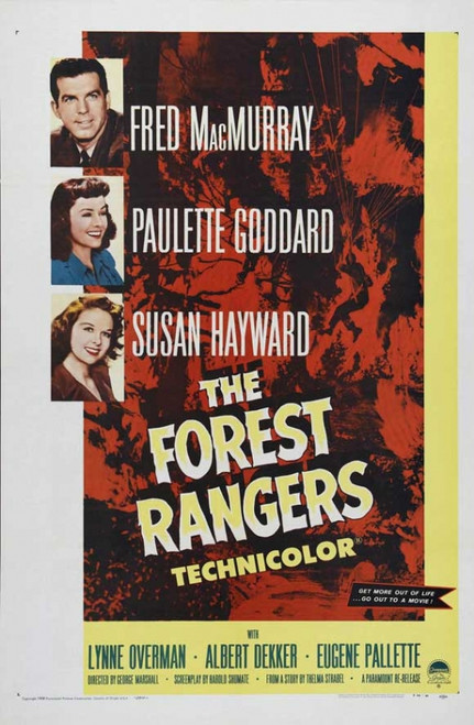 The Forest Rangers Movie Poster Print (27 x 40) - Item # MOVAJ1217