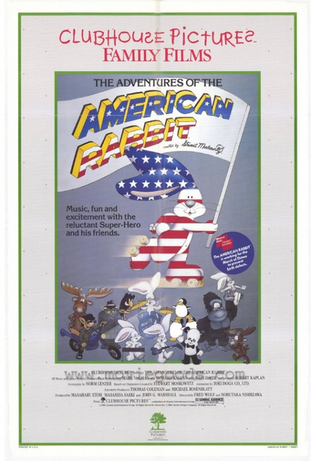 The Adventure of the American Rabbit Movie Poster Print (27 x 40) - Item # MOVAH7255