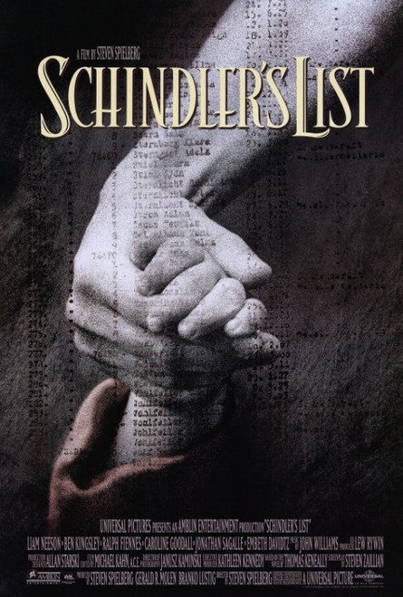 Schindler's List Movie Poster Print (27 x 40) - Item # MOVAF6221