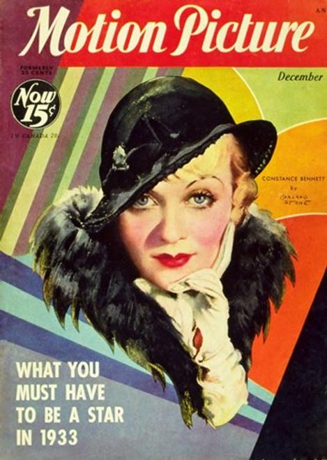 Constance Bennett Movie Poster (11 x 17) - Item # MOV251565