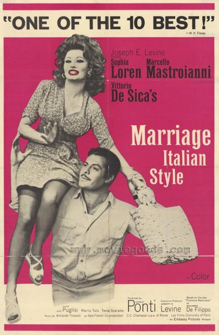 Marriage - Italian Style Movie Poster Print (27 x 40) - Item # MOVCF7437