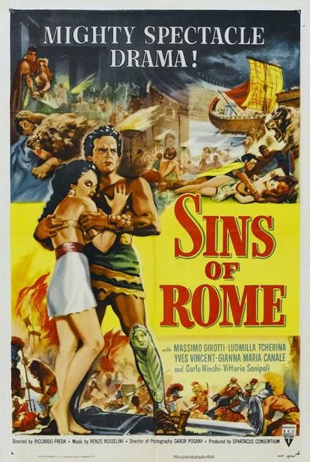 Spartaco Movie Poster Print (27 x 40) - Item # MOVGJ1198