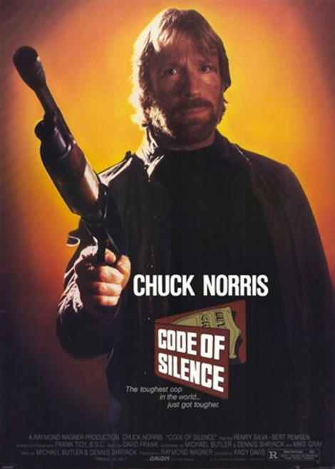 Code of Silence Movie Poster (11 x 17) - Item # MOV249098