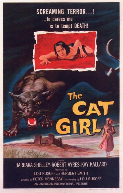 Cat Girl Movie Poster (11 x 17) - Item # MOVGI5363