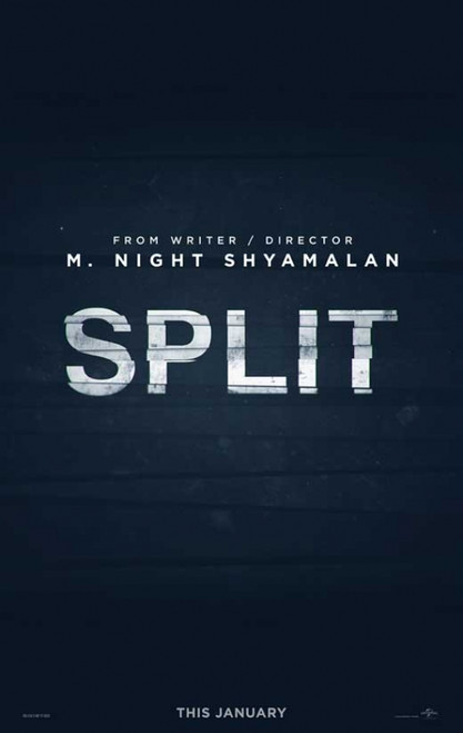 Split Movie Poster (11 x 17) - Item # MOVCB46155