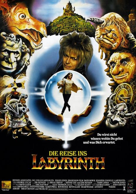 Labyrinth Movie Poster Masterprint (11 x 17) - Item # EVCMCDLABYEC013