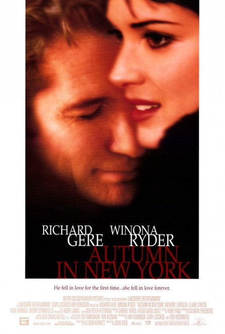 Autumn in New York Movie Poster Print (27 x 40) - Item # MOVAH8394