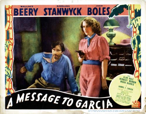 A Message To Garcia Movie Poster Masterprint (14 x 11) - Item # EVCMCDMETOFE006