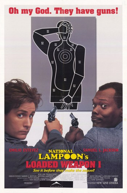 National Lampoon's Loaded Weapon 1 Movie Poster (11 x 17) - Item # MOV367883