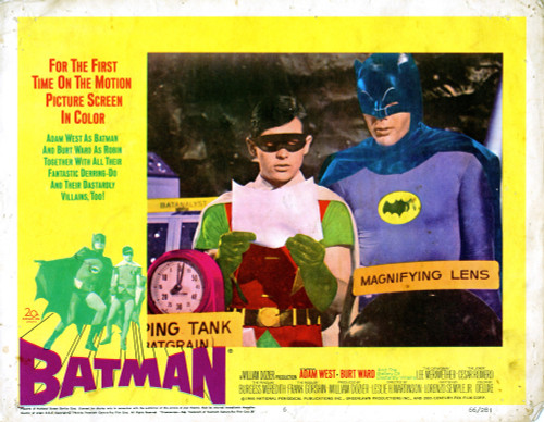 Batman Movie Poster Masterprint (14 x 11) - Item # EVCMCDBATMEC008