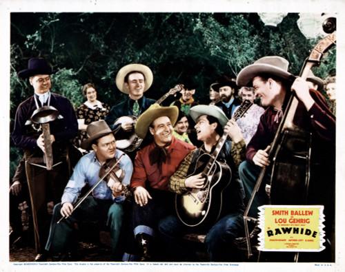 Rawhide Movie Poster Masterprint (14 x 11) - Item # EVCMMDRAWHFE006
