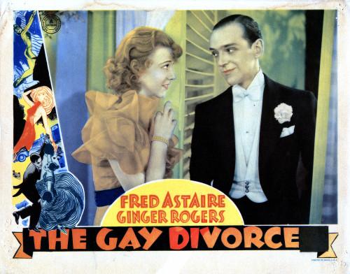 The Gay Divorcee Movie Poster Masterprint (14 x 11) - Item # EVCMCDGADIEC007