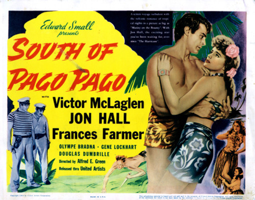South Of Pago Pago Movie Poster Masterprint (14 x 11) - Item # EVCMCDSOOFEC506