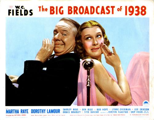 The Big Broadcast Of 1938 Movie Poster Masterprint (14 x 11) - Item # EVCM8DBIBREC004
