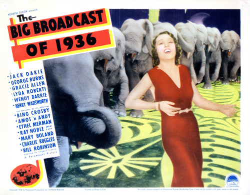 The Big Broadcast Of 1936 Photo Print (10 x 8) - Item # EVCMCDBIBREC016