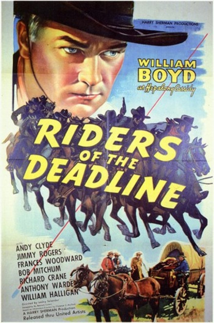 Riders of the Deadline Movie Poster (11 x 17) - Item # MOV200573