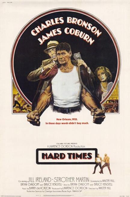 Hard Times Movie Poster (11 x 17) - Item # MOV221687