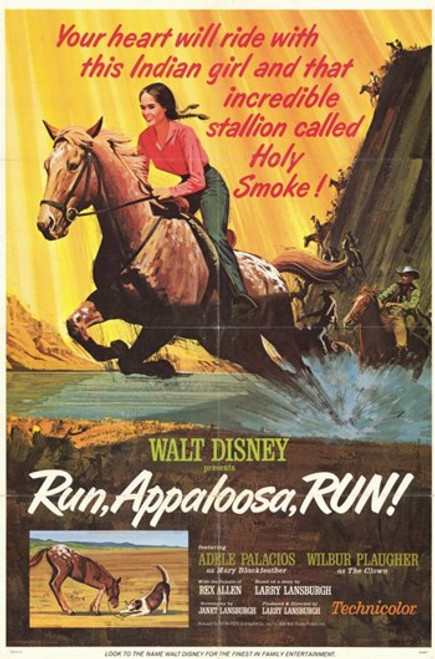 Run Appaloosa Run Movie Poster (11 x 17) - Item # MOV209159