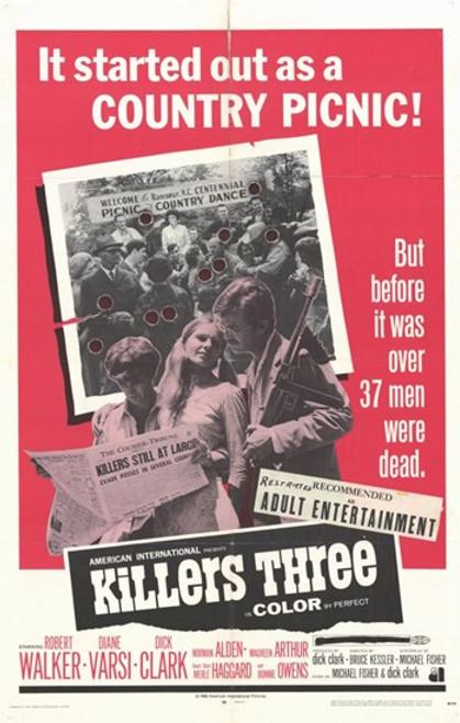 Killers Three Movie Poster (11 x 17) - Item # MOV249420