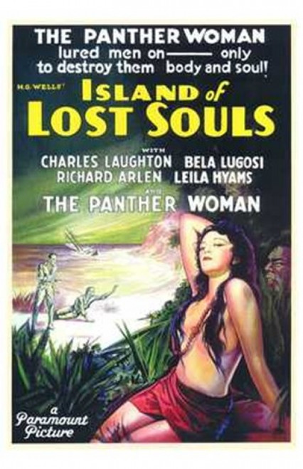 Island of Lost Souls Movie Poster (11 x 17) - Item # MOV143374