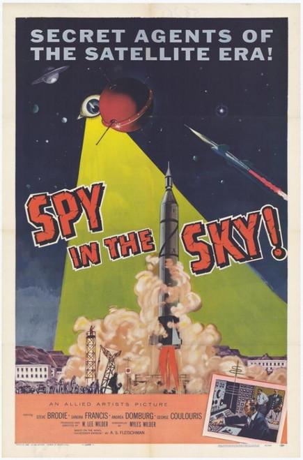 Spy in the Sky Movie Poster Print (27 x 40) - Item # MOVEH5398