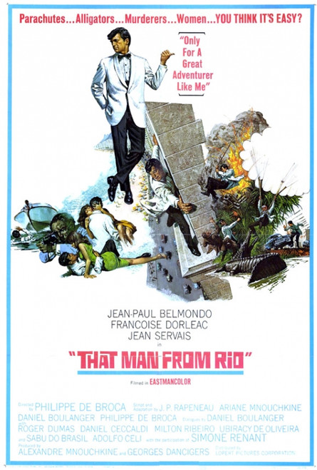 That Man from Rio Movie Poster Print (27 x 40) - Item # MOVIF4433
