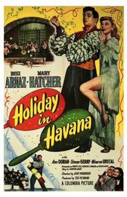 Holiday in Havana Movie Poster (11 x 17) - Item # MOV197106