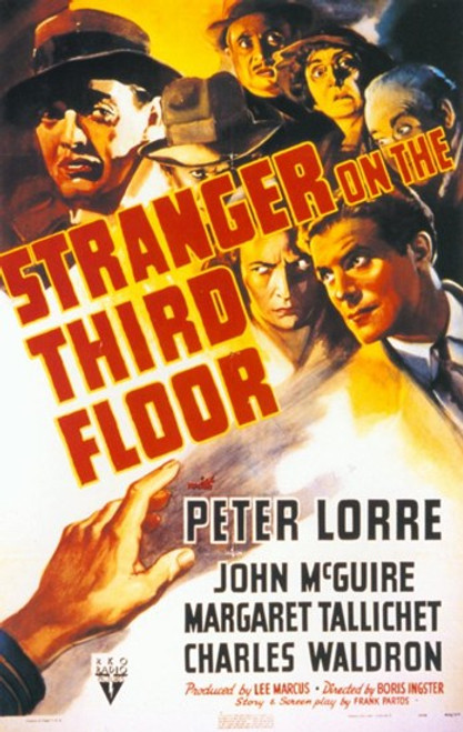 Stranger on the Third Floor Movie Poster (11 x 17) - Item # MOV311598