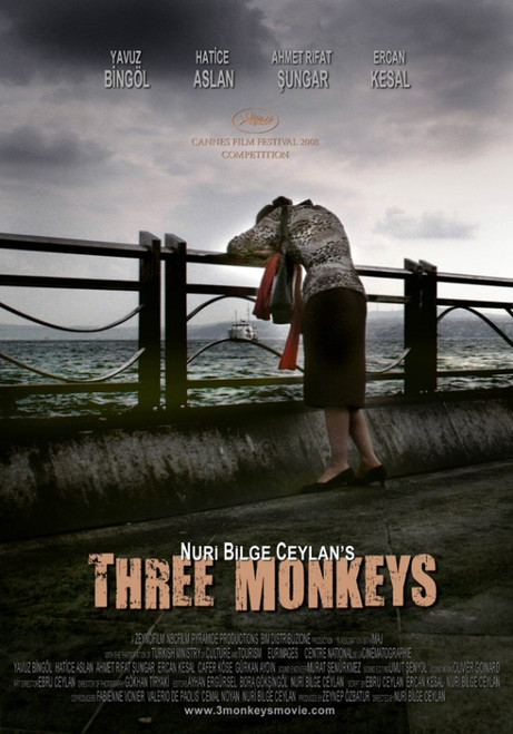 Three Monkeys Movie Poster Print (27 x 40) - Item # MOVAI1452