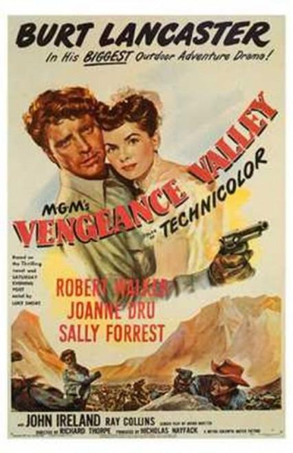Vengeance Valley Movie Poster (11 x 17) - Item # MOV199987