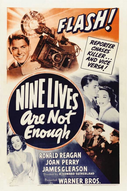 Nine Lives Are Not Enough Movie Poster Print (27 x 40) - Item # MOVIB95710