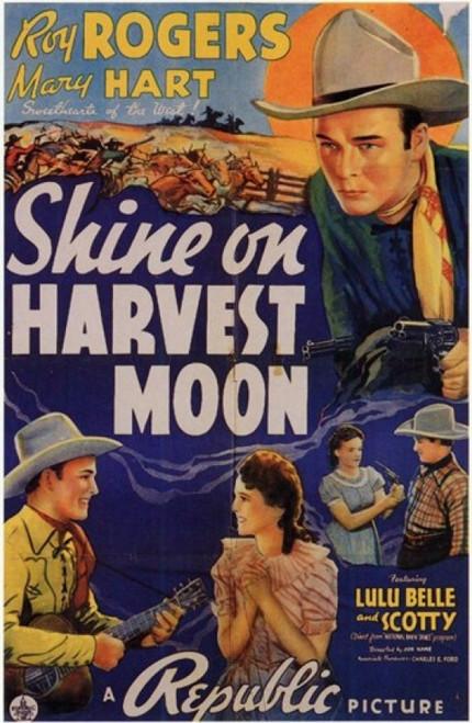 Shine on Harvest Moon Movie Poster (11 x 17) - Item # MOV199905