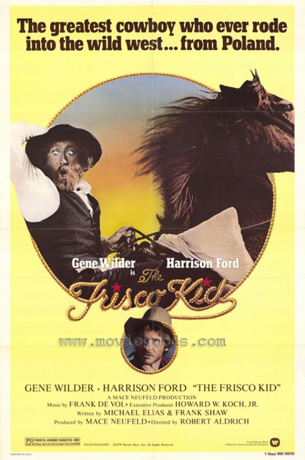 The Frisco Kid Movie Poster Print (27 x 40) - Item # MOVAH8306