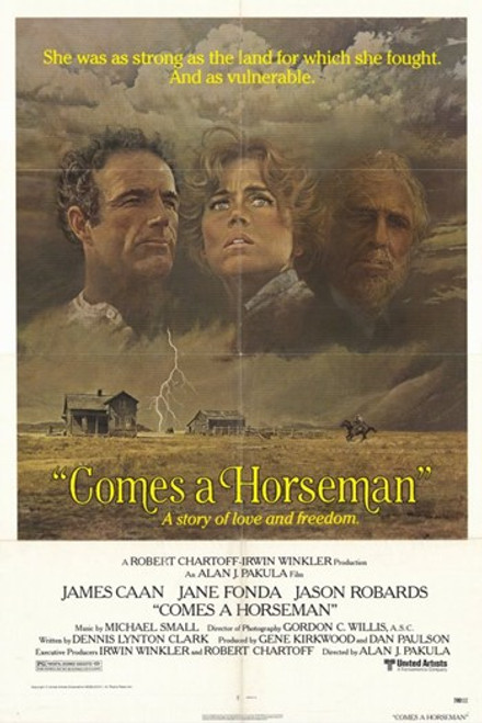 Comes a Horseman Movie Poster (11 x 17) - Item # MOV253403